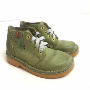 Brakkies Toddlers Leather Combat Boots
